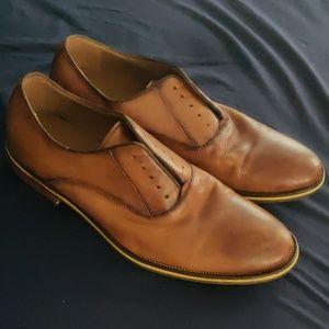 Aldo Leather Men's Tan Shoes